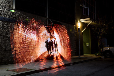 LightPainting of @mythbusters @karibyron @JamieNoTweet @donttrythis