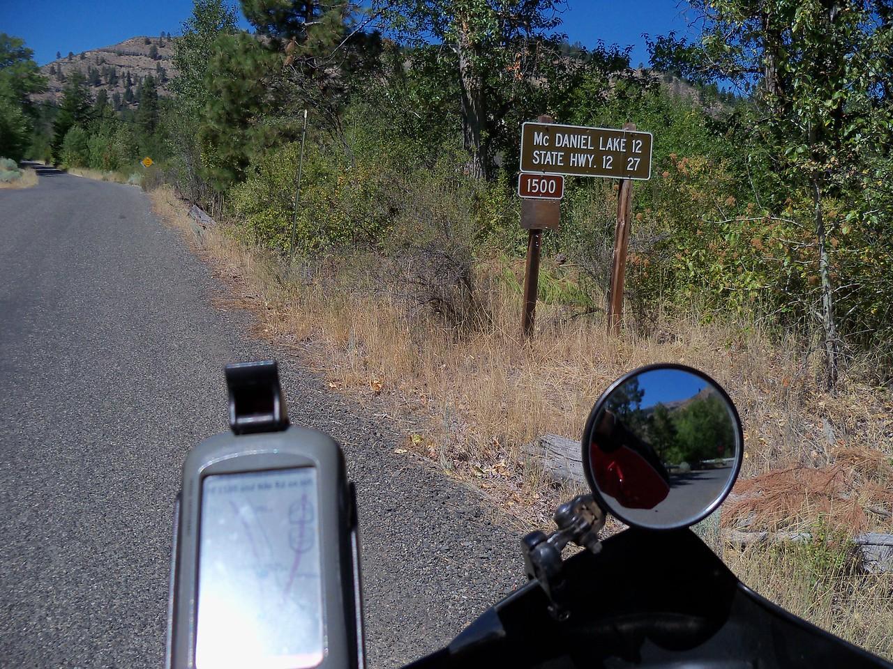 Wednesday's ride to Timberwolf Mtn.