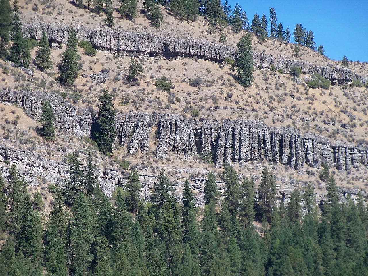 Old Basalt Formations