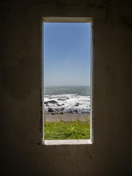 Window on the sea