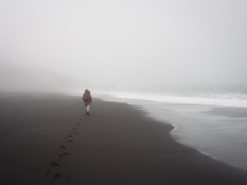 Along Black Sands Beach