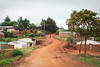 Street views in a small residential neighborhood of Mzuzu.