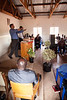 Saturday morning's service at the dedication meetings at Bro. Raphael's church in Lilongwe.
