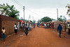 Street views in a small residential neighborhood of Mzuzu.