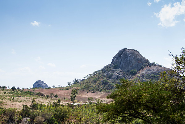 John and I were fascinated by these huge granite domes, we saw quite a few!