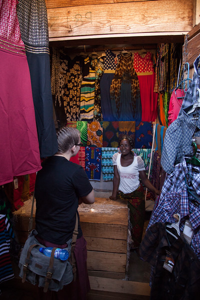 We took a few free hours one morning and wandered through some of the local shopping, giving the ladies some opportunities to buy clothes to take home.