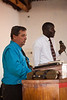 Saturday evening's service at the dedication meetings at Bro. Raphael's church in Lilongwe.