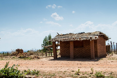 Many things in Malawi are built out of brick, and you'll see little brick-firing stations all along the road.