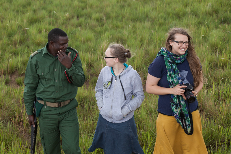 We put on our tourist hats for a day's excursion to Nyika National Park, where we drove through the landscape spotting animals of a variety of types, including elephant, zebra, roan antelope, bush buck, and a few other small deer varieties.