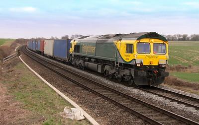66504 Overton 21/03/15 4O54 Leeds to Southampton