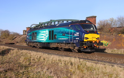 68009 Battledown 27/03/15 0Z70 Crewe to Eastleigh