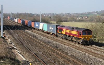 66175 Lower Basildon 20/03/15 4O21 Trafford Park to Southampton Western Docks