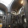 The stunning interior of Antwerpen Centraal station.