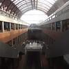 Antwerp Central station, split across three levels.