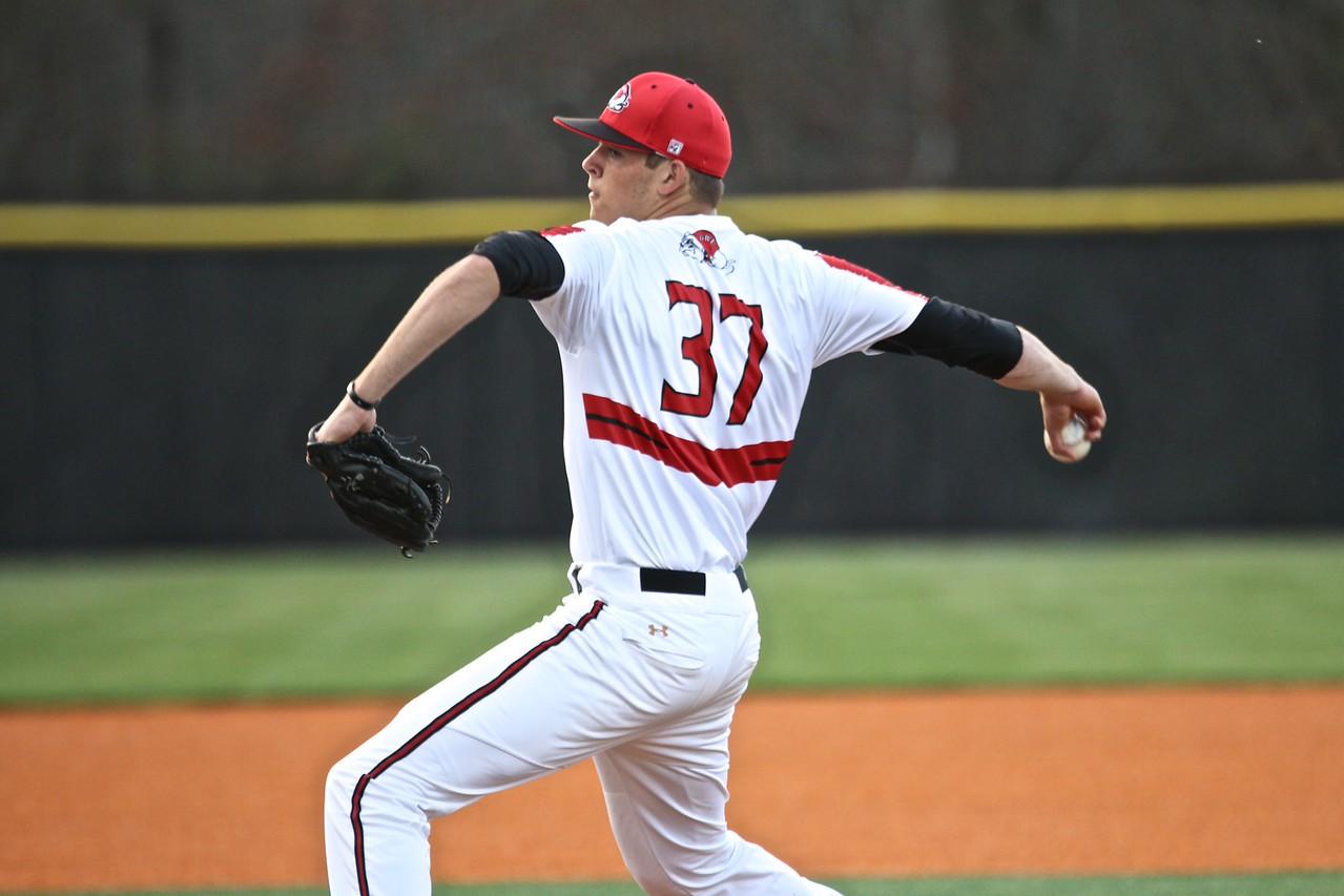 Baseball faces Furman University for evening of baseball on Saint Patricks Day.