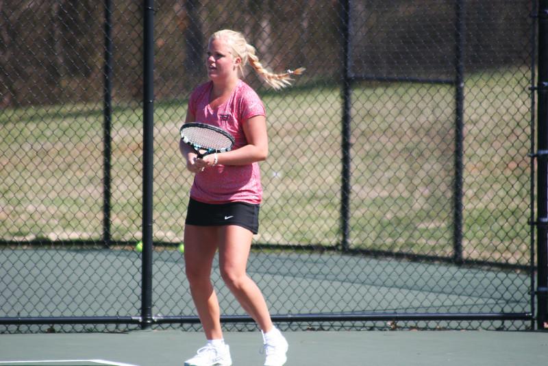 GWU Women's Tennis vs Wofford College
