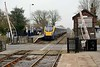16 March 2015 :: 180111 is seen calling at Howden station working 1H04, the 1348 from Kings Cross to Hull