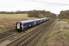 27 March 2015 :: A closer look at the Scotrail Mk2's at Potbridge on 5Z68