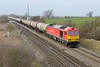 11 March 2015 :: 60015 passing The Reddings with 6E41 from Westerleigh to Lindsey