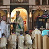 Tonsuring of altar boys
