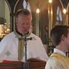 Fr. Mark Sietsema reading the Gospel