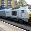67014 arrives at 0829/1H18 Kidderminster-Marylebone service