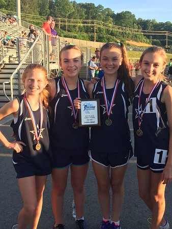 May 15 - Hailey Wins East Tennessee Track Meet