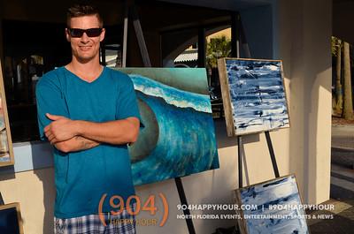Jax Beach Art Walk - 5.12.15