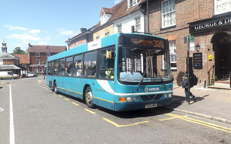 Arriva V264HBH in Princes Risborough.