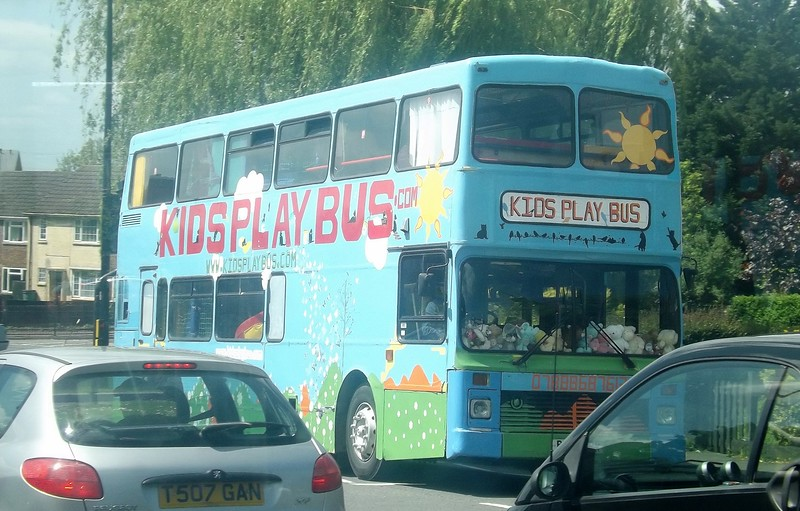 Kids Play Bus Olympian R164HHK in Aylesbury.