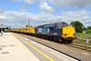 28 May 2015 :: 37607 along with a Network Rail Test Train was stabled at Didcot