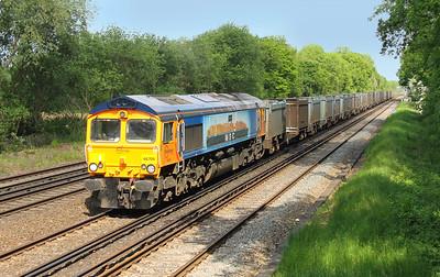 66709 Old Basing 26/05/15 4Y81 Mountfield to Southampton Western Docks