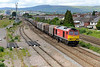 18 May 2015 :: 60063 is seen passing East Usk Yard with 6V75 from Dee Marsh to Margam