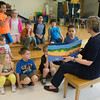 "JOED VIERA/STAFF PHOTOGRAPHER-Lockport, NY-Cynthia Cotten reads her book ""The Book Boats In"" at Charles Upson Elementary School during the Lockport Rotary Club's Bushels of Books event."