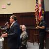 JOED VIERA/STAFF PHOTOGRAPHER-Lockport, NY-Judge Bill Watson speaks during a heroin panel at Lockport High School
