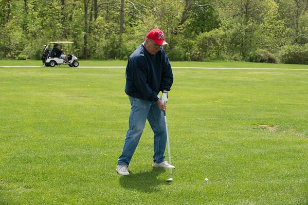 JOED VIERA/STAFF PHOTOGRAPHER-Lockport, NY-Rob Annalora golfs at Niagara County Golf Course. Wednesday, May 13, 2015.