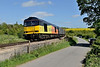 16 May 2015 :: 60076 is seen at Crofton powering 6V62 from Tilbury to Llanwern