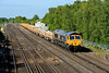 27 May 2015 :: 66741 is passing Worting with 6M26 from Eastleigh to Stud Farm