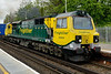 """11 May 2015 :: A close up view of 70004 """"The Coal Industry Society"""" at Basingstoke with 4M28, Southampton to Ditton"""