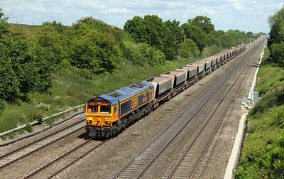 66706 Ruscombe 30/05/15 6B11 Colnbrook to Pengam