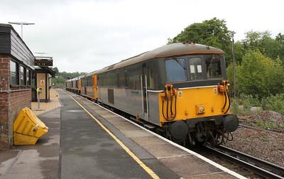 73128 Micheldever 02/06/15 0Y68 Tonbridge to Eastleigh