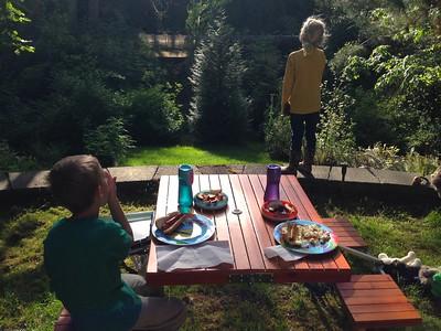 Ravine picnic!
