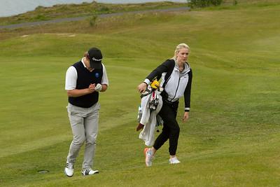 Arnór ingi Finnbjörnsson og Anna María Hákonardóttir.