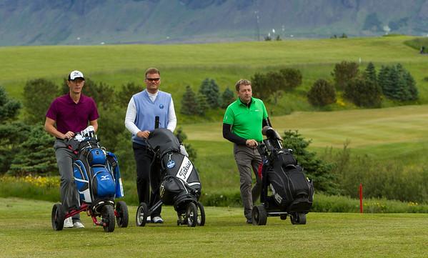 Fyrsta flokks menn. Alistair Nigel Howarth Kent, Rúnar Guðmundsson og Sigurður Stefánsson.
