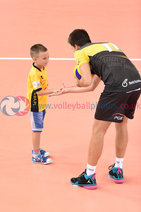 London Legacy Volleyball Cup - IBB Polonia London 0 vs. 3 PGE Skra Bełchatów (11, 20, 22), Copper Box Arena, Queen Elizabeth Olympic Park, 12 September 2015.  © Lynne Marshall
