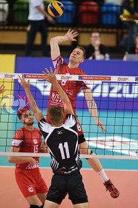 London Legacy Volleyball Cup - IBB Polonia London 0 vs. 3 Team Northumbria (24, 25, 21), Copper Box Arena, Queen Elizabeth Olympic Park, 13 September 2015.  © Lynne Marshall