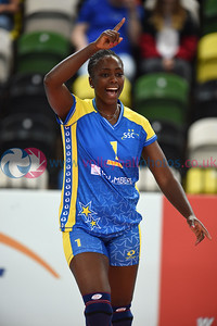 London Legacy Volleyball Cup - Polonia SideOut London 0 v 3 Schweriner SC (11,11,14), Copper Box Arena, Queen Elizabeth Olympic Park, 12 September 2015.   © Lynne Marshall