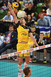 London Legacy Volleyball Cup - PGE Skra Bełchatów 0 vs. 3 VfB Friedrichshafen (21, 21, 20), Copper Box Arena, Queen Elizabeth Olympic Park, 13 September 2015.   © Lynne Marshall