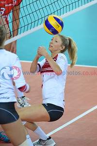 London Legacy Volleyball Cup - Polonia SideOut London 1 vs. 3 Team Northumbria (21-25, 21-25, 25-17, 27-29), Copper Box Arena, Queen Elizabeth Olympic Park, 13 September 2015.  © Lynne Marshall