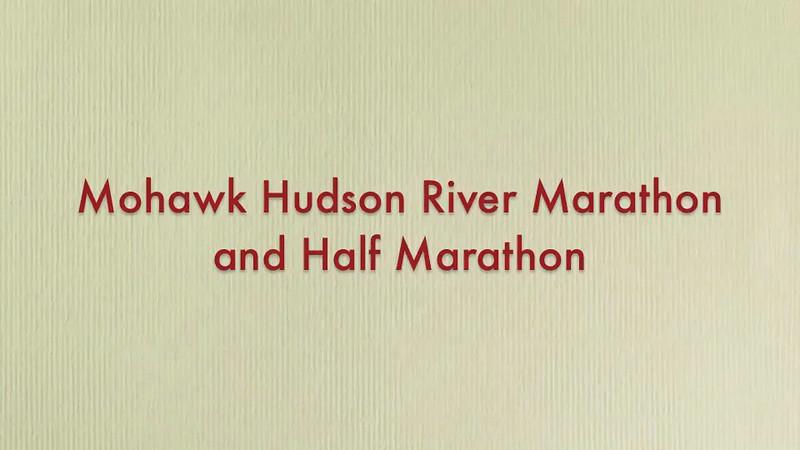 Mohawk Hudson River Marathon & Half